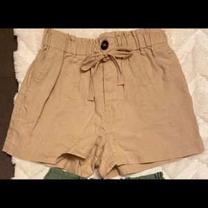 Paperbag Style Shorts